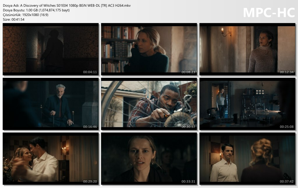 A Discovery of Witches S01E04 1080p BEiN WEB-DL [TR-EN] AC3 H264
