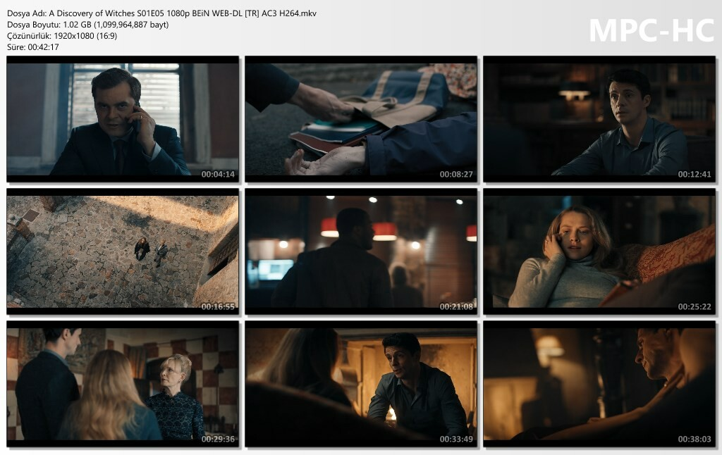 A Discovery of Witches S01E05 1080p BEiN WEB-DL [TR-EN] AC3 H264