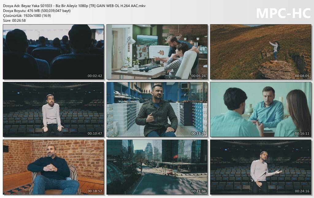 Beyaz Yaka S01E03 - Biz Bir Aileyiz 1080p [TR] GAIN WEB-DL H.264 AAC