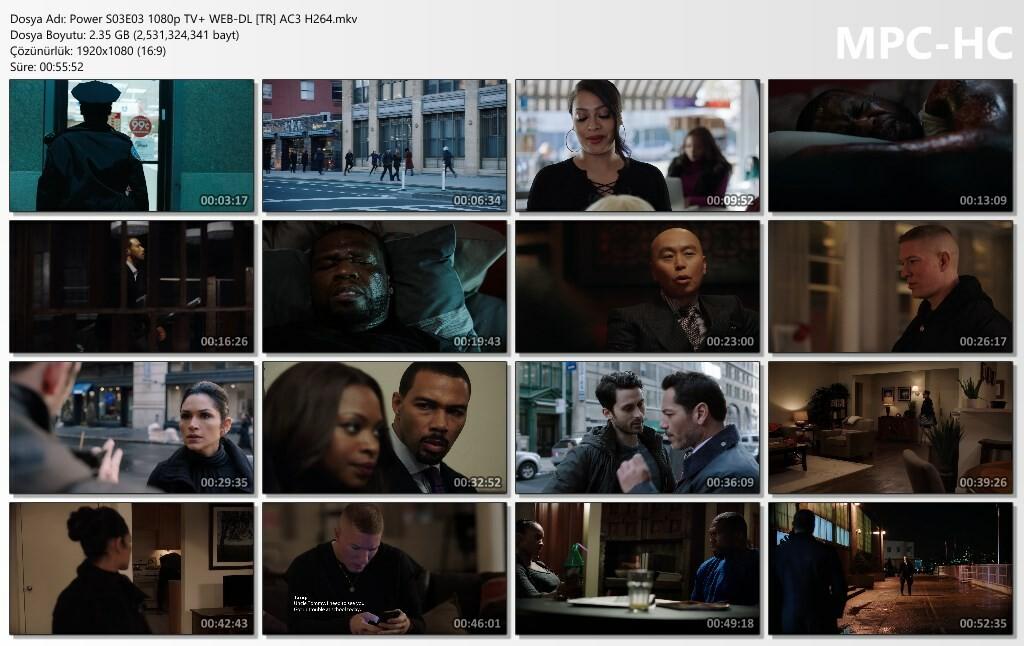 Power S03E03 1080p TV+ WEB-DL [TR] AC3 H264