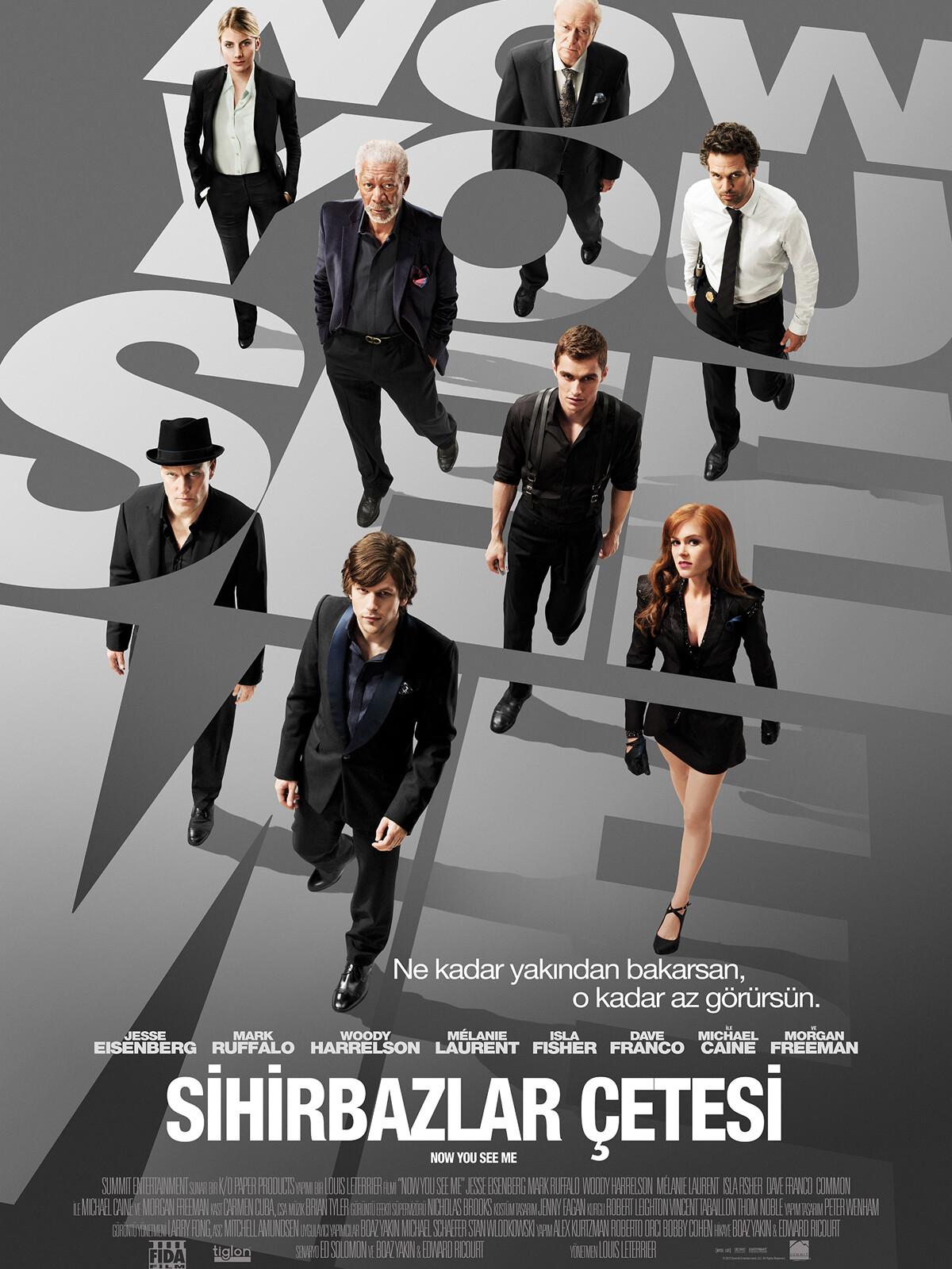 Sihirbazlar Çetesi - Now You See Me (2013) 1080p NF WEB-DL DDP5.1 H.264 DUAL [TR EN]