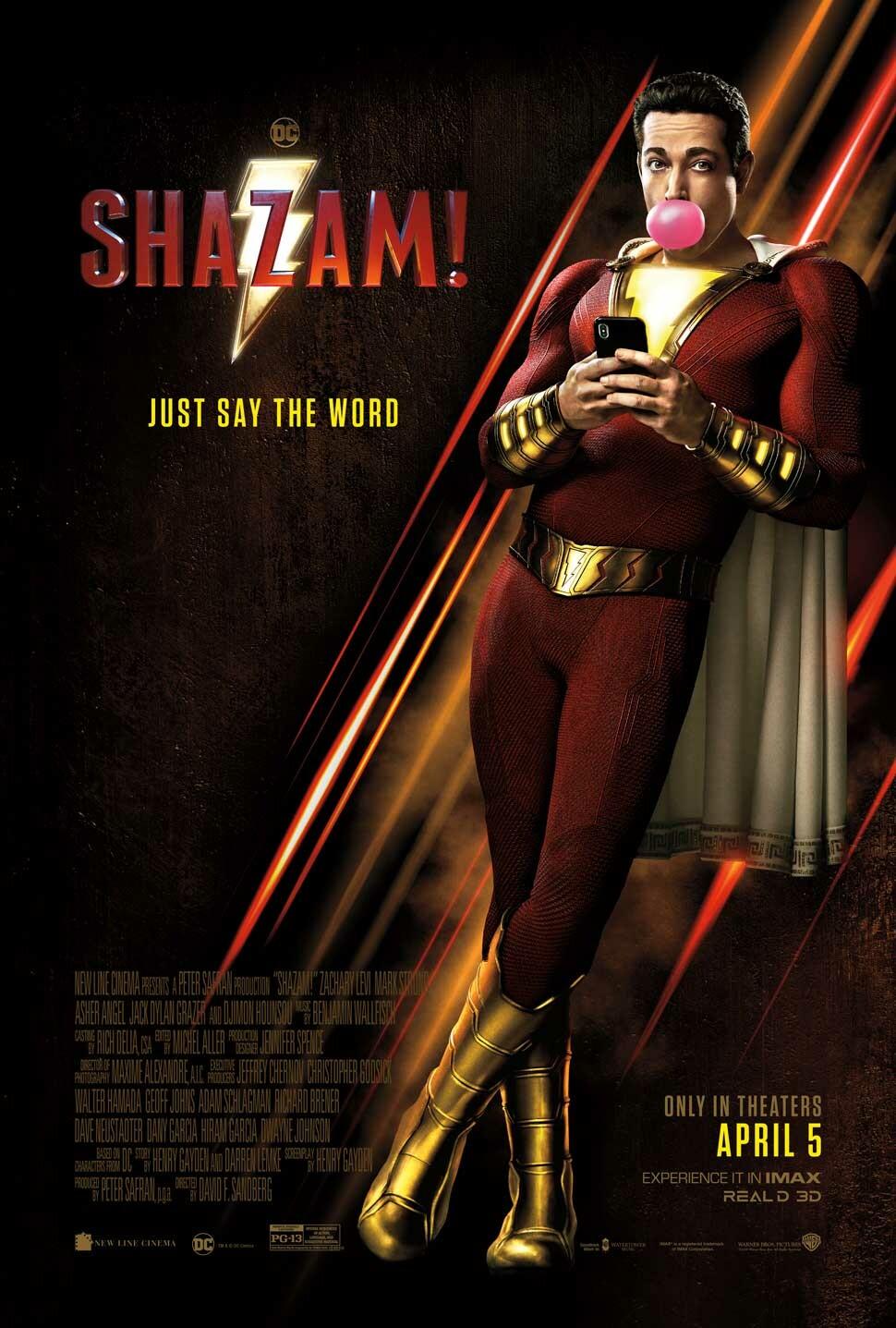 Shazam! 6 Güç - Shazam! (2019) 1080p NF WEB-DL DDP5.1 H.264 DUAL [TR EN]
