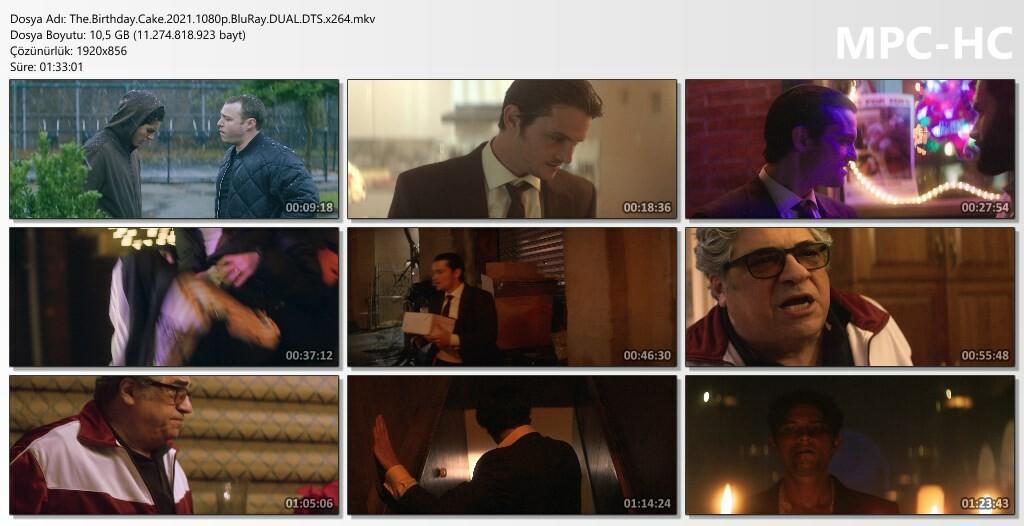Doğum Günü Pastası - The Birthday Cake (2021) 1080p -  720p BluRay DUAL DD5.1 x264 Türkçe Dublaj