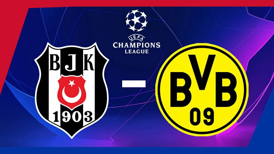 Şampiyonlar Ligi Beşiktaş - Borussia Dortmund (15.09.2021) 1080p WEB-DL AAC2.0 H.264