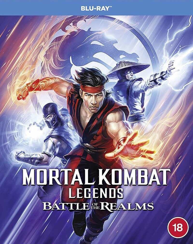 Mortal Kombat Legends Battle of the Realms (2021) BluRay Remux - 1080p - 720p AVC [TR-EN] DTS-HD MA 5.1 Türkçe Dublaj