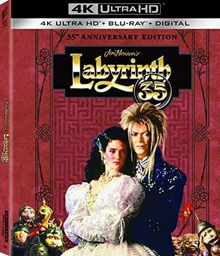 Labirent - Labyrinth (1986) 35th Anniversary 2160p UHD BluRay Remux HEVC [TR-EN] TrueHD 7.1 Türkçe Dublaj