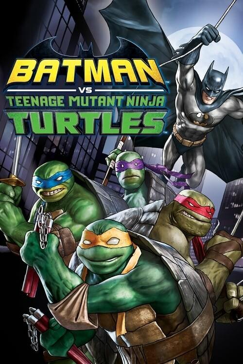 Batman Ninja Kaplumbağalar - Batman vs Teenage Mutant Ninja Turtles (2019) 2160p | 1080p UHD BluRay REMUX HEVC DD5.1 DUAL [TR EN]
