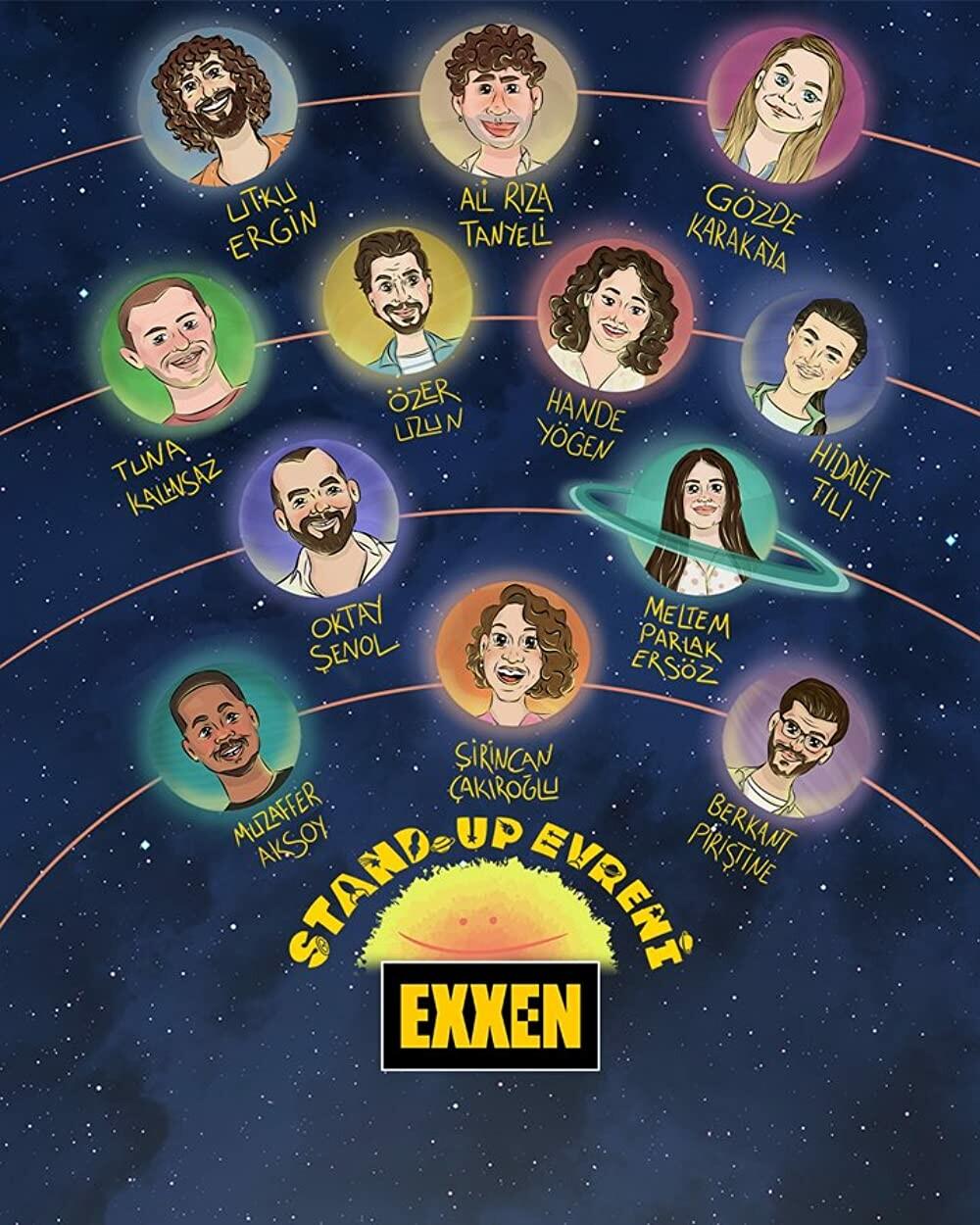 Stand Up Evreni S01E11 1080p EXXEN WEB-DL [TR] AC3 H264