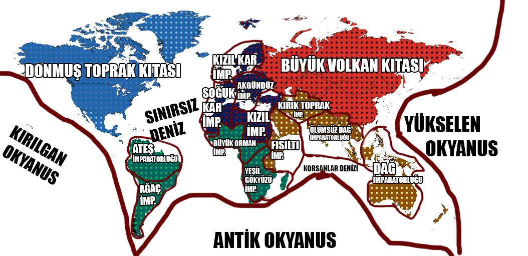 Bir Zombi'nin Hikayesi... Harita
